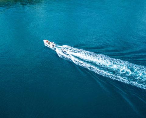 Motorboot fahren