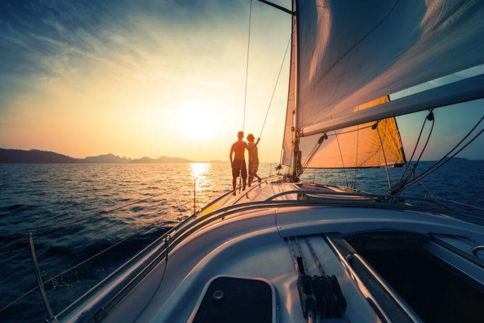 Genießen Sie die Fahrt mit Ihrer Yacht dank den Ausbildungen von nautik-austria!